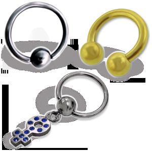 Kroužky a podkovy