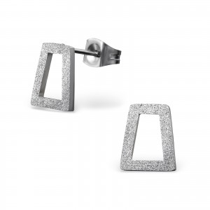 "8x10 Náušnice z chirurgické oceli ""Imago"""