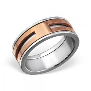 """Pánský prsten z chirurgické oceli """"Galeati"""""""