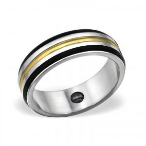 """Prsten z chirurgické oceli  """"Proin"""""""